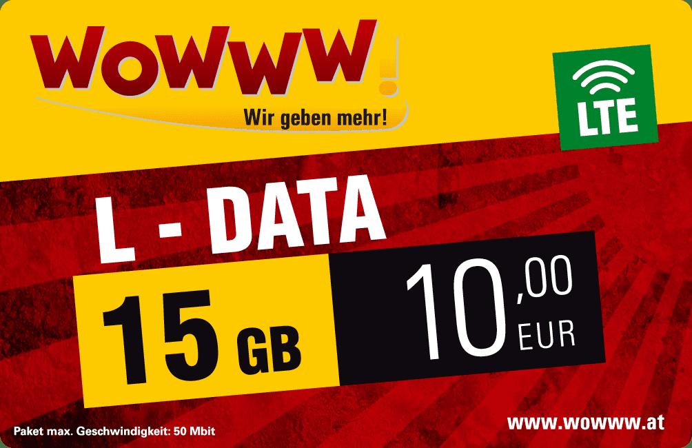 Wowww Data L Paket