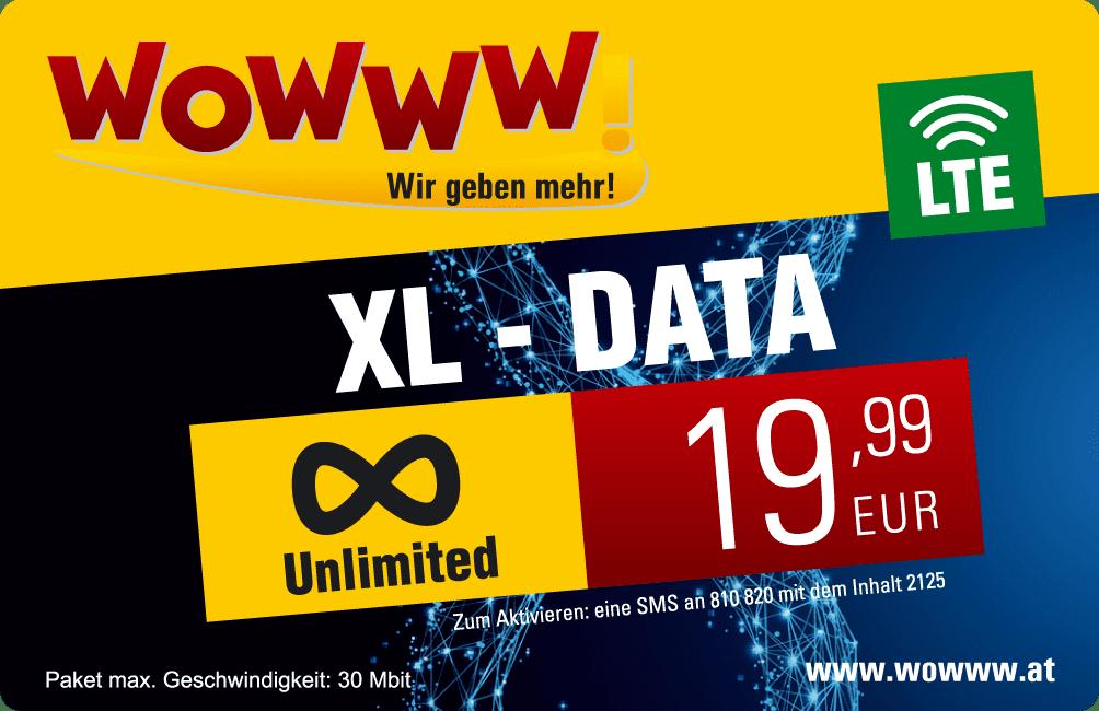 Wowww Data XL Paket